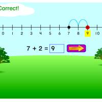 Number Line online Activity