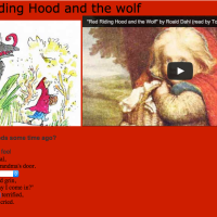 Cloze Activity Roald Dahl Little Red Riding Hood
