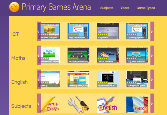 teacherswebprimarygames
