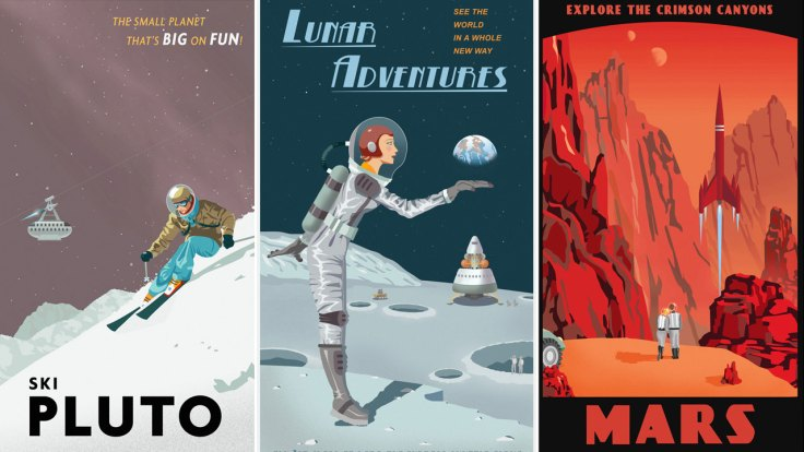 Spanish english science fiction words for Free travel posters for teachers