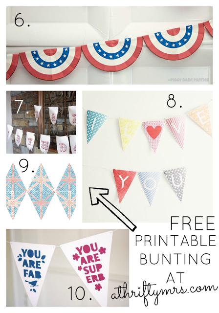 free_bunting_printables