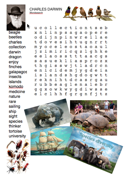 charlesdarwinwordsearch