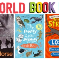 Free World Book Day frame/ border