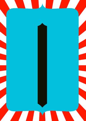 Doctor Seuss inspired Free Frame