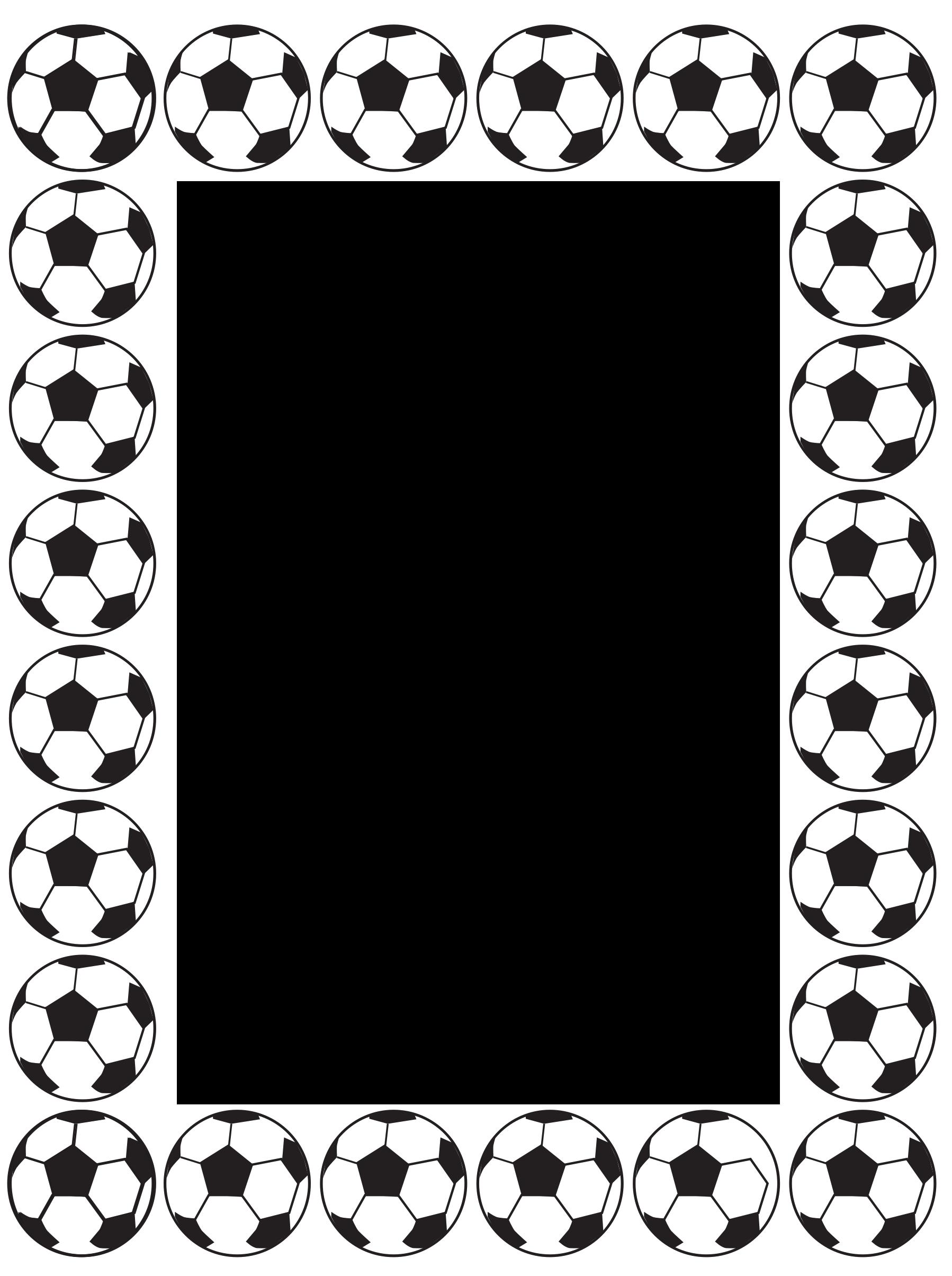 Free Football Frame/ Border